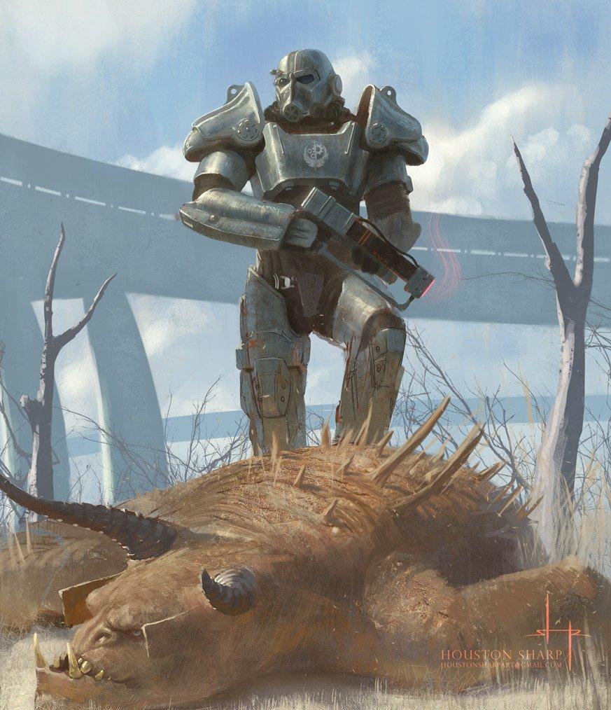 Лучший арт мира Fallout - Изображение 45
