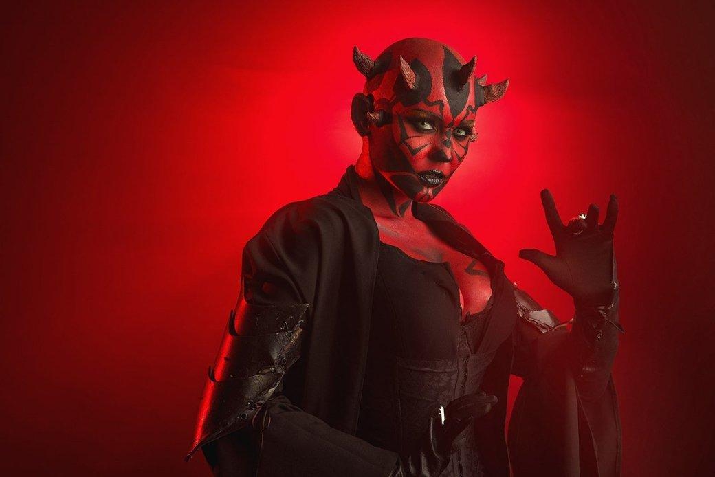 Косплей дня: невероятная женская версия Дарта Мола из«Звездных войн». - Изображение 9
