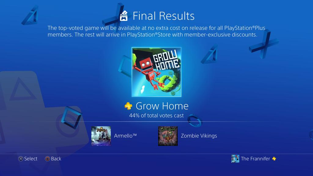 Vote to Play на сентябрь: подписчики PS Plus выбрали Grow Home - Изображение 1