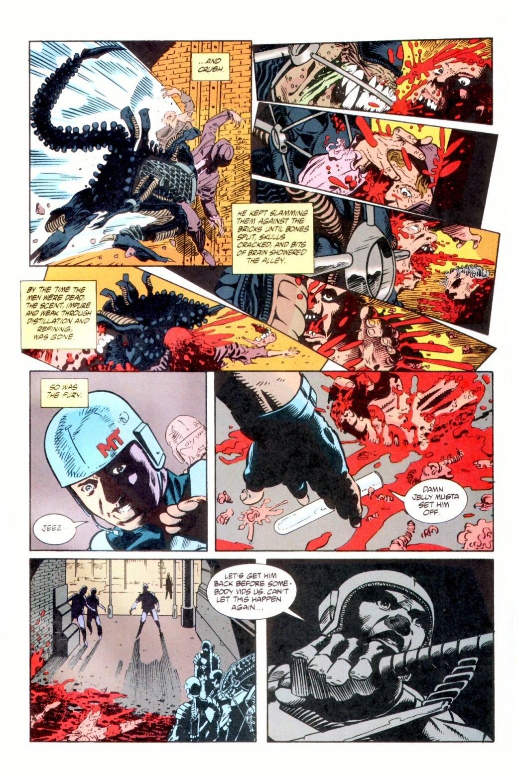 Жуткие комиксы про Чужих, откоторых кровь стынет вжилах. - Изображение 26