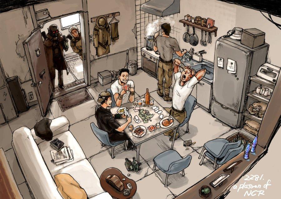 Лучший арт мира Fallout - Изображение 51