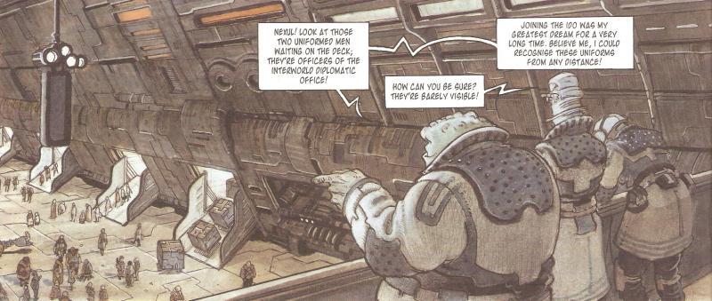 Комиксы: Orbital - Изображение 3