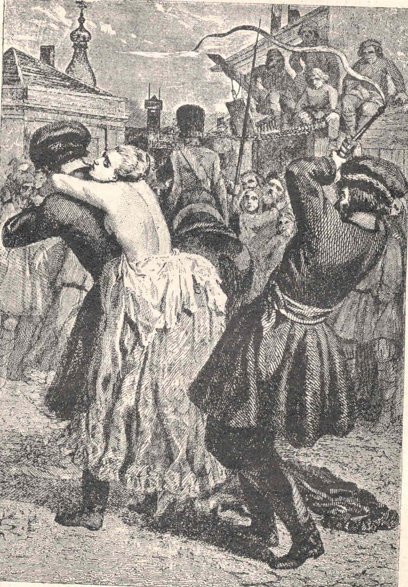 женщина бьет кнутом мужчину до крови русские