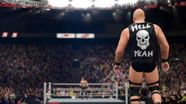 Одно из главных новшеств WWE 2K16 —реалистичный пот - Изображение 2