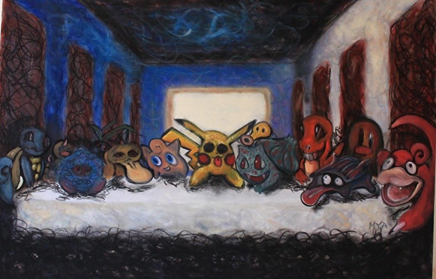 Художник написал картину с покемонами в поддержку Соколовского - Изображение 1
