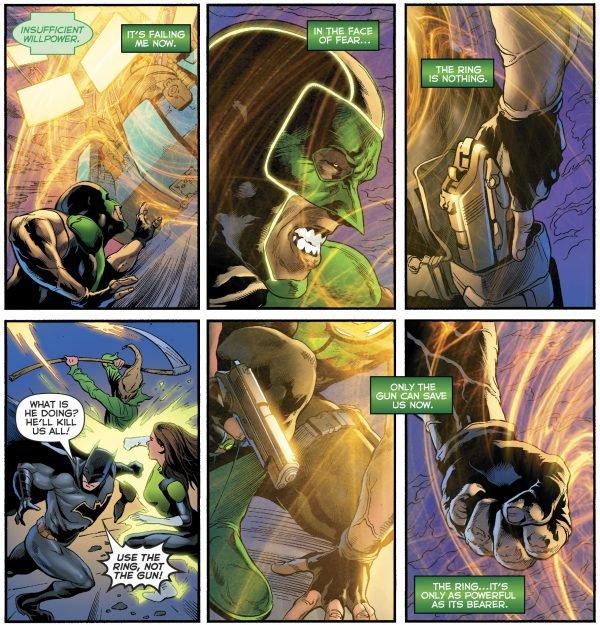 Зеленому фонарю больше не нужен пистолет, и все благодаря Бэтмену. - Изображение 4