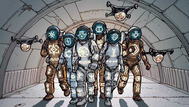 Самые жуткие комиксы про космос, которые вы только можете представить. - Изображение 10
