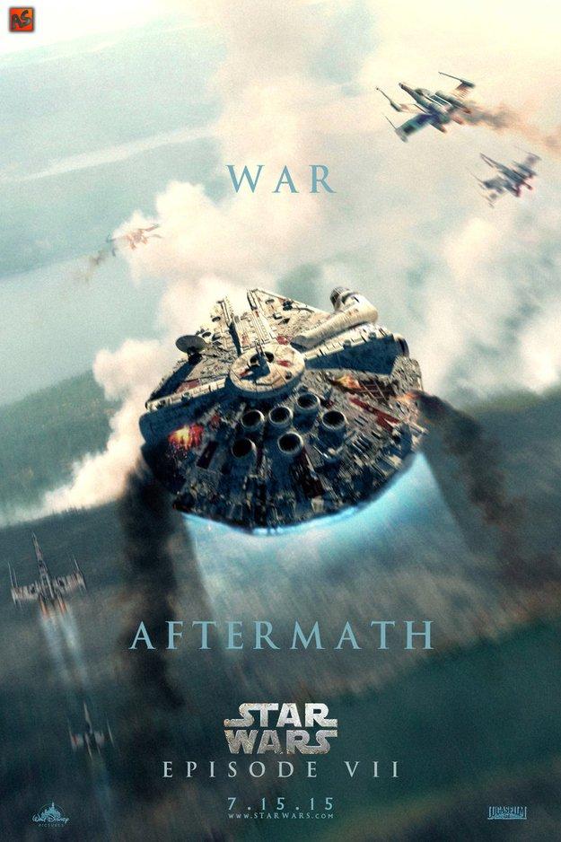 Фанатские постеры Star Wars: Episode VII - Изображение 4