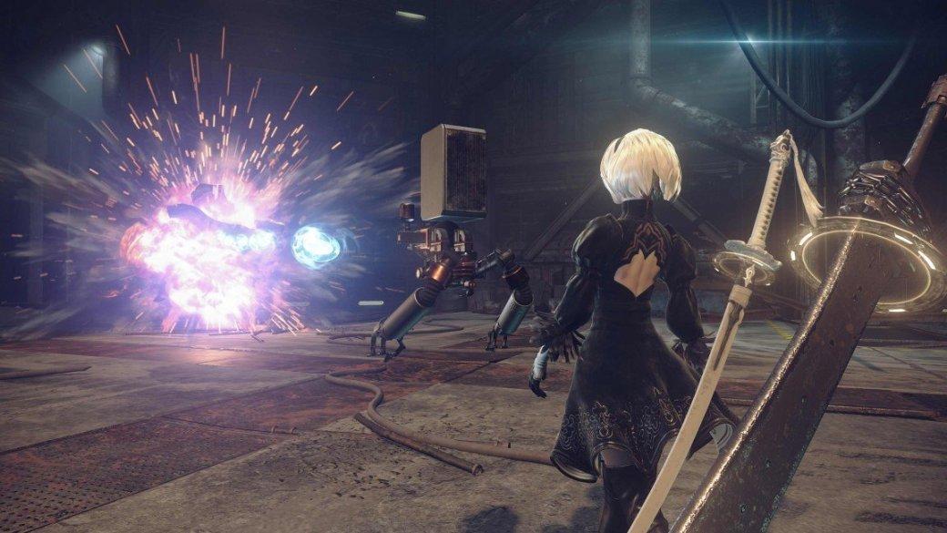 Кунгфу против роботов в новом трейлере Nier: Automata - Изображение 4