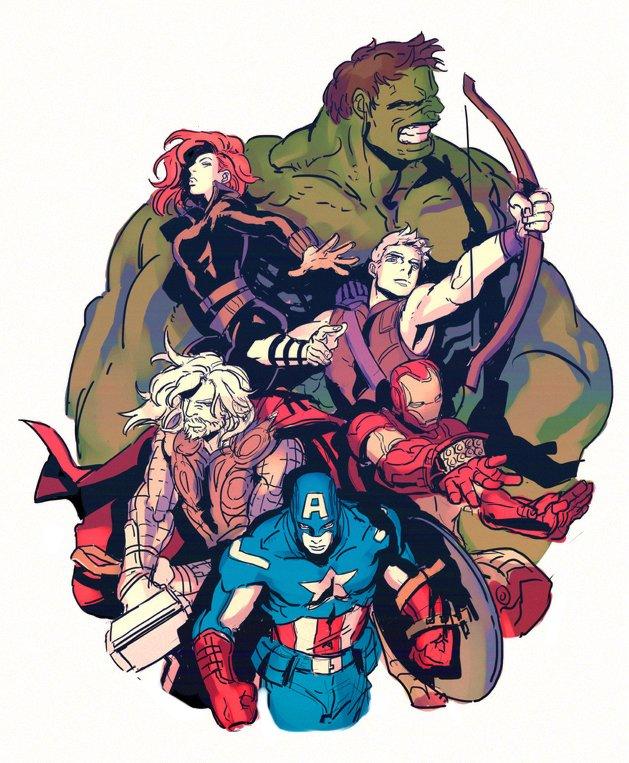 Галерея вариаций: Мстители-женщины, Мстители-дети... - Изображение 195