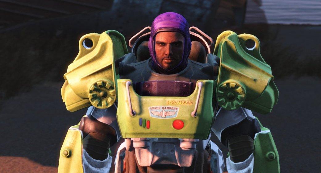 Базз Лайтер из «Истории игрушек» появился в  Fallout 4 - Изображение 1