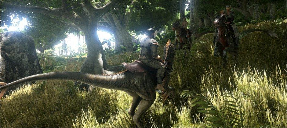 ARK: Survival Evolved выйдет на PS4, с поддержкой Project Morpheus - Изображение 1