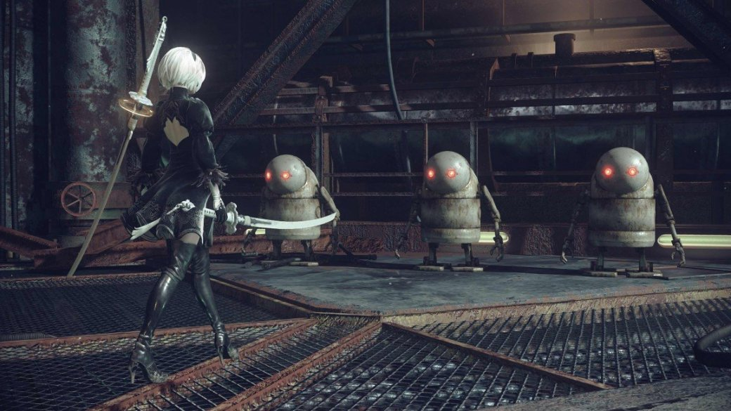 Кунгфу против роботов в новом трейлере Nier: Automata - Изображение 3