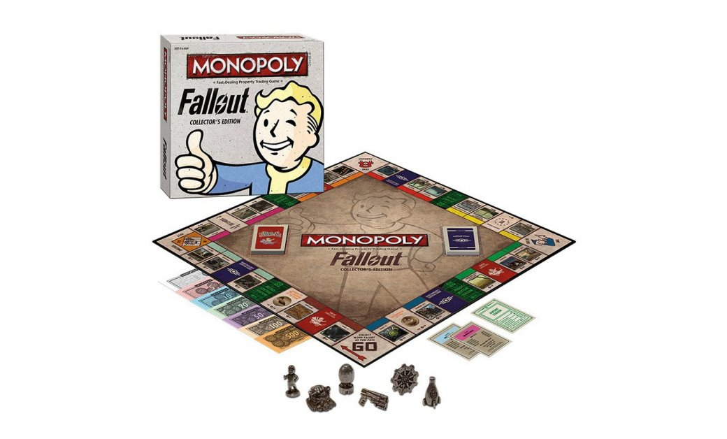 Monopoly: Fallout Collector's Edition стоит $40, выйдет в октябре - Изображение 1
