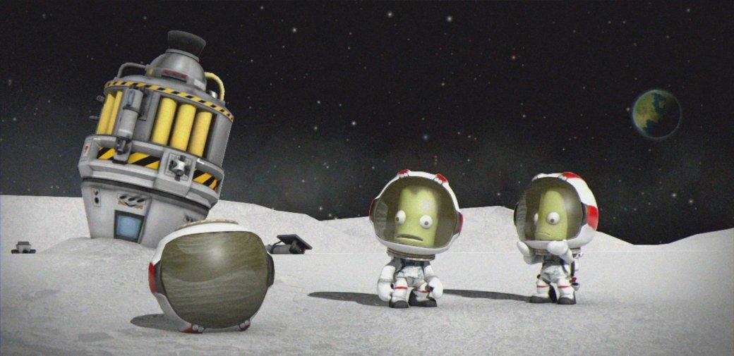 Kerbal Space Program высадится на астероиде перед НАСА. - Изображение 1