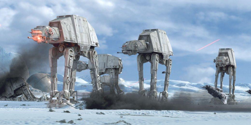 В8 эпизоде «Звездных войн» появятся новые шагающие супер-роботы - Изображение 1