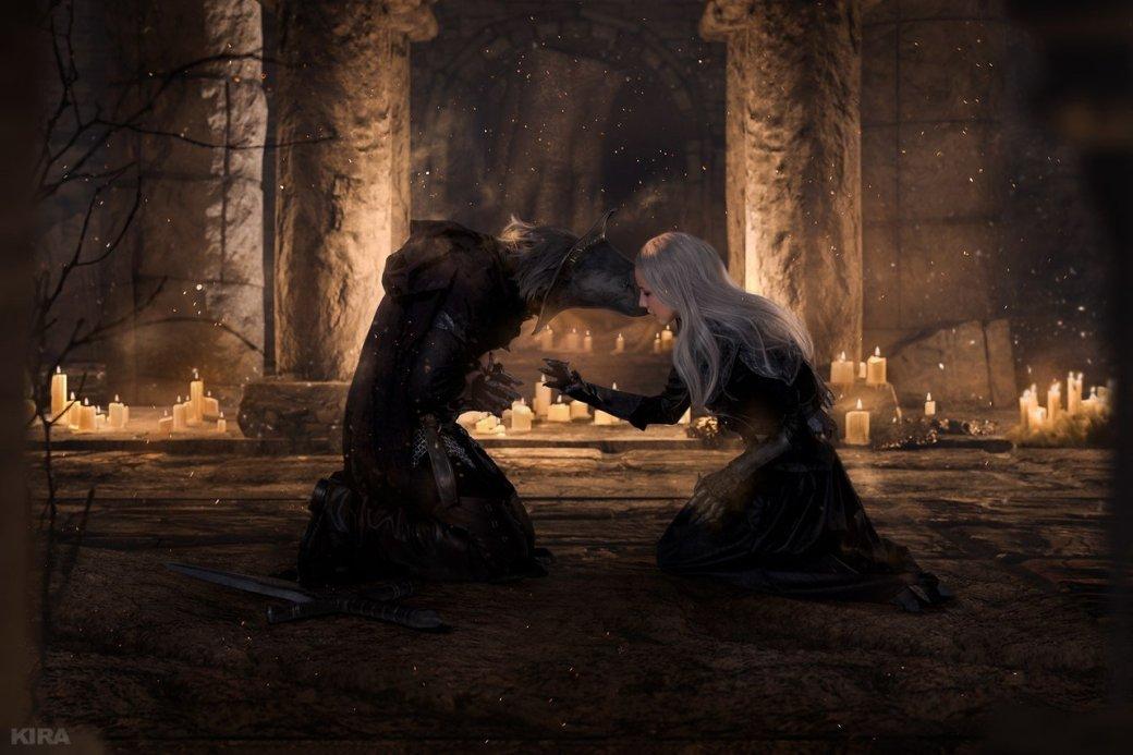 Косплей дня: Негорящий и Юрия из Лондора в Dark Souls 3. - Изображение 8