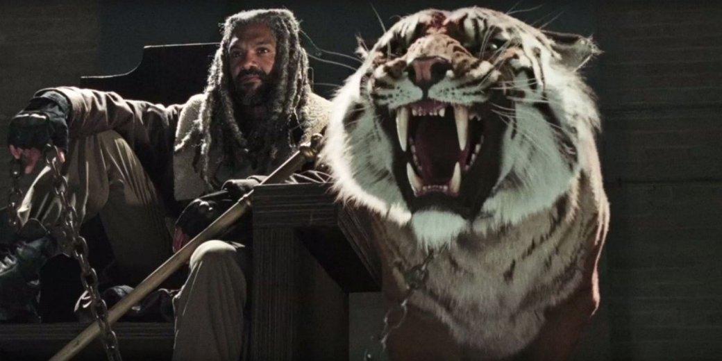 Автор «Ходячих мертвецов» пообещал очень страшного тигра в 7-м сезоне - Изображение 1