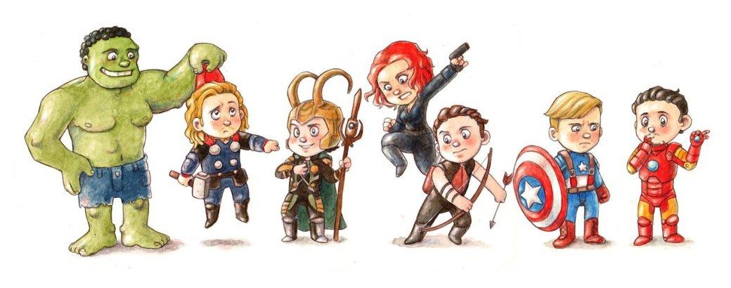 Галерея вариаций: Мстители-женщины, Мстители-дети... - Изображение 73