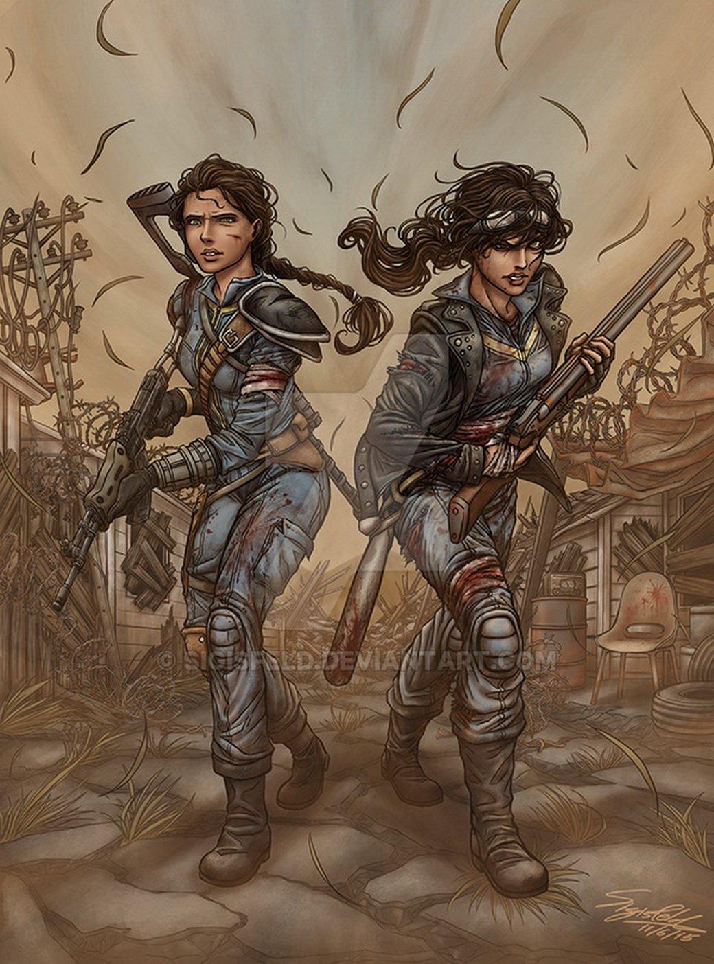 Лучший арт мира Fallout - Изображение 22