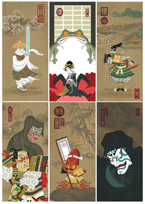 Star Wars на древнеяпонский лад - Изображение 8