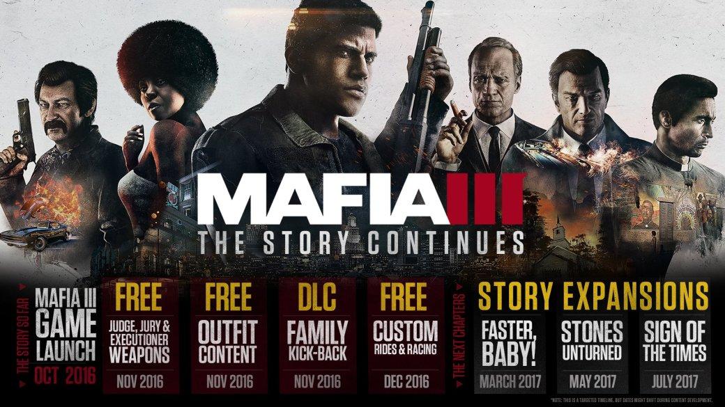 Дату выхода DLC для Mafia III объявят дополнительно