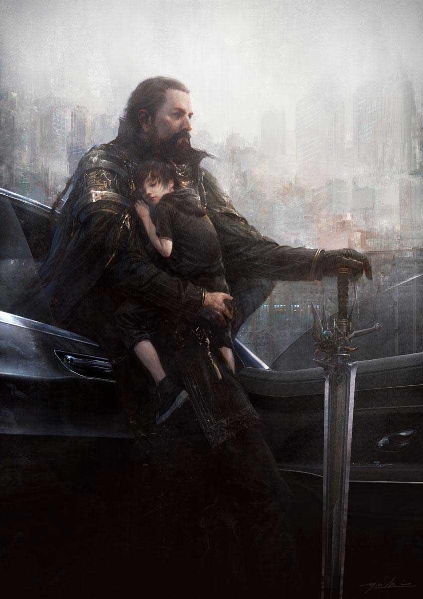 Final Fantasy 15: король Регис прощается со своим сыном Ноктисом - Изображение 2