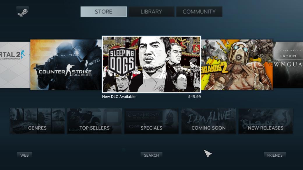 Релиз Steam Big Picture и новая распродажа - Изображение 1