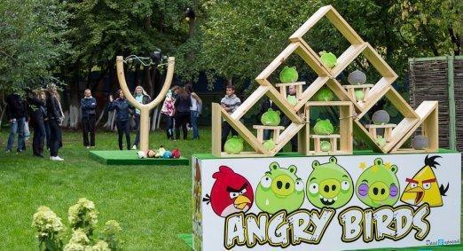 В Набережных Челнах открыли аттракцион по мотивам Angry Birds - Изображение 1