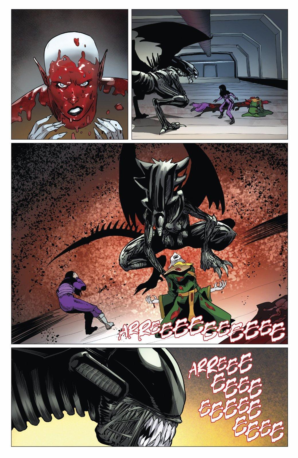 Бэтмен против Чужого?! Безумные комикс-кроссоверы сксеноморфами. - Изображение 35