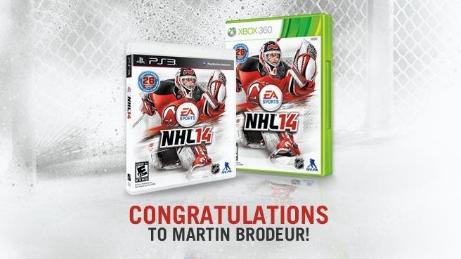 Официально представлена обложка игры NHL 14 - Изображение 1