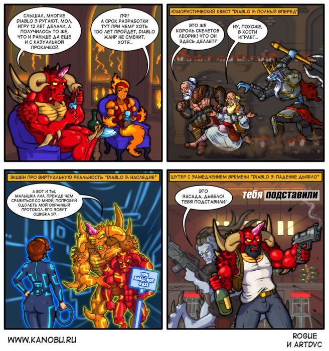 Канобу-комиксы. Все лики Diablo. - Изображение 1