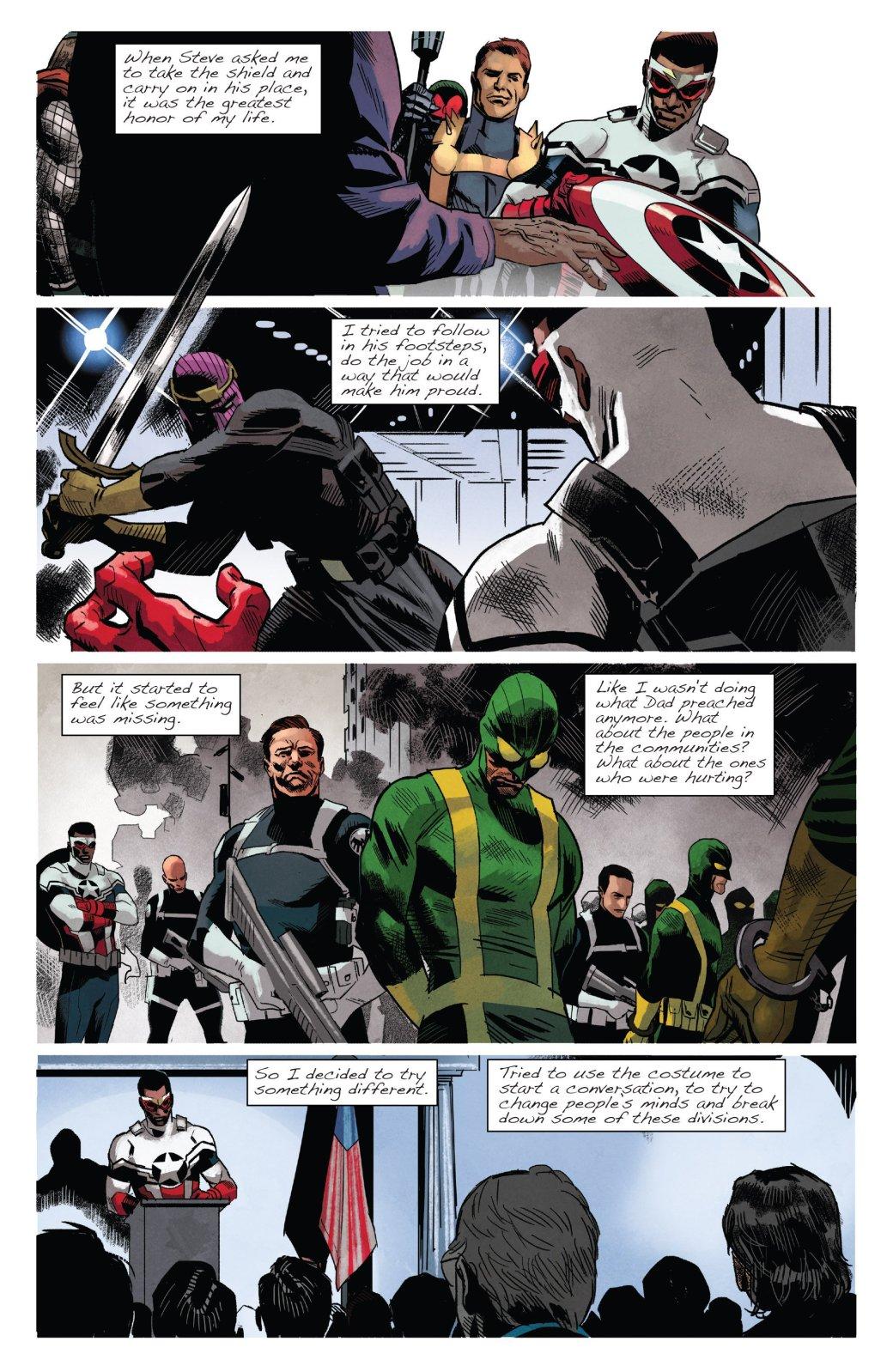 Остался только один: почему второй Капитан Америка отказался от щита. - Изображение 2