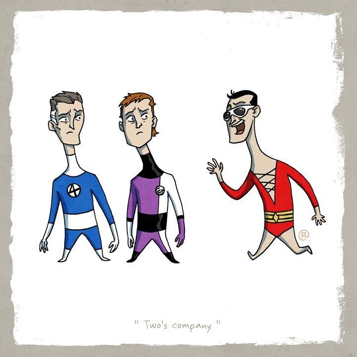 Как Marvel персонажей DC воровала (и наоборот). - Изображение 39