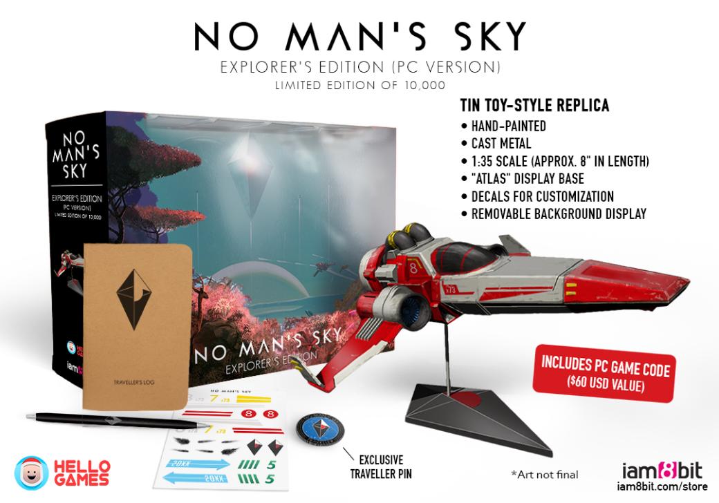 Коллекционка No Man's Sky все еще не вышла. - Изображение 1
