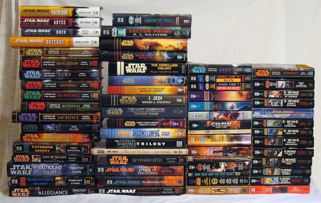 По «Звездным войнам» выйдет 20 новых книг - Изображение 1