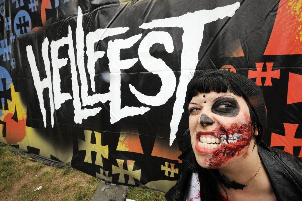 Видеорепортаж с метал-фестиваля Hellfest - Изображение 1