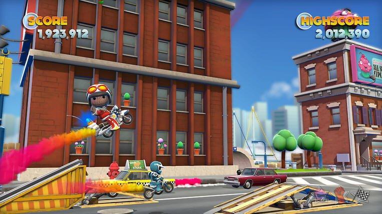 Герои Tearaway и LittleBigPlanet посетят порт Joe Danger 2 на PS Vita - Изображение 1