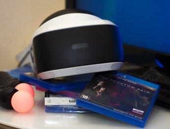 Распаковка ипервые впечатления отPlayStation VR