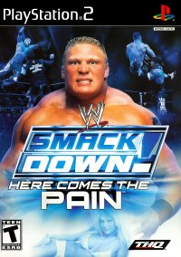 WWE SmackDown! Here Comes the Pain – фото обложки игры