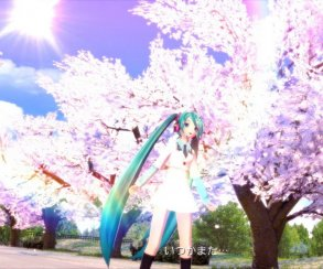 Игра про виртуальную певицу Хацунэ Мику возглавила чарт Японии