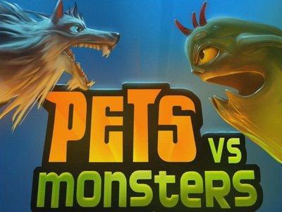 Pets vs. Monsters. Геймплей