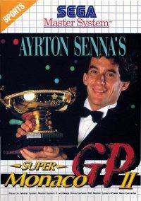 Ayrton Senna's Super Monaco GP II – фото обложки игры