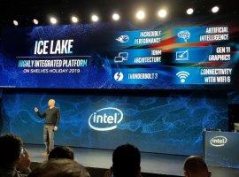 Intel представила 10-нм процессоры десятого поколения Ice Lake