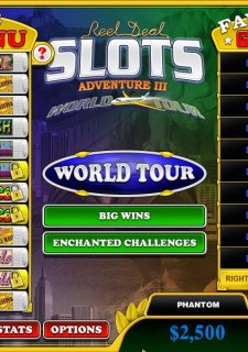 Reel Deal Slots: Adventure 3 World Tour
