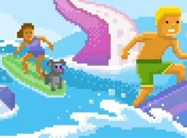 Вбраузер Microsoft Edge добавили секретную игру Surf