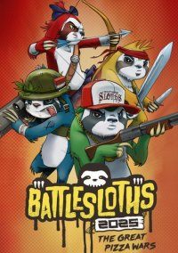 Battlesloths 2025: The Great Pizza Wars – фото обложки игры