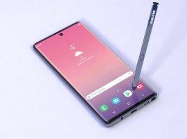 Samsung Galaxy Note10: раскрыты новые детали охарактеристиках будущего флагмана