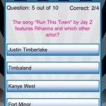 Скриншот Rihanna Quizzle – Изображение 3