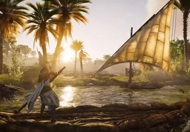 Assassin's Creed: Origins. Интерактивный тур - трейлер выхода